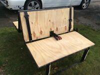 3/4 Rock and Roll bed for T4 T5 bongo transit vivaro camper