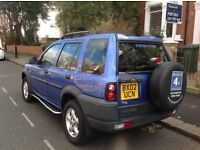 2002 Land Rover Freelander Diesel Good Condition with leather and mot