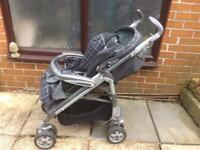 Mammas and Pappas pram/pushchair used but in good condition.Bargain.