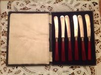 Vintage Butterknife set