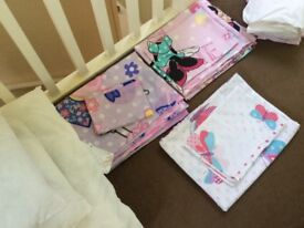 Child's bedding