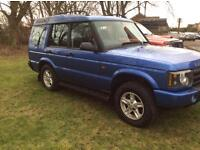 Land Rover discovery td5 s 7 seater (12 months Mot) *SERVICE RECORD*