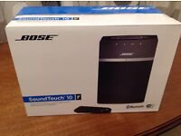 Bose sound touch 10 Brand new in original sealed packaging.