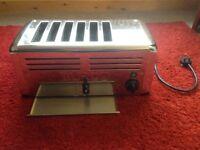 Burco industrial six slice toaster