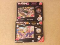 2 Wasgij 1000 piece puzzles