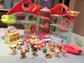 Littlest pet shop , pets, accesories and case