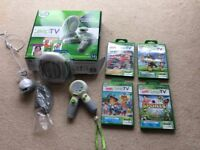 Leap TV games console with 4 games