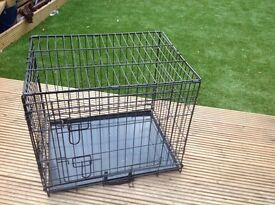 "Ellie bo dog cage, small 24"", £15"