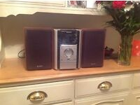 Sony micro hi fi system with remote
