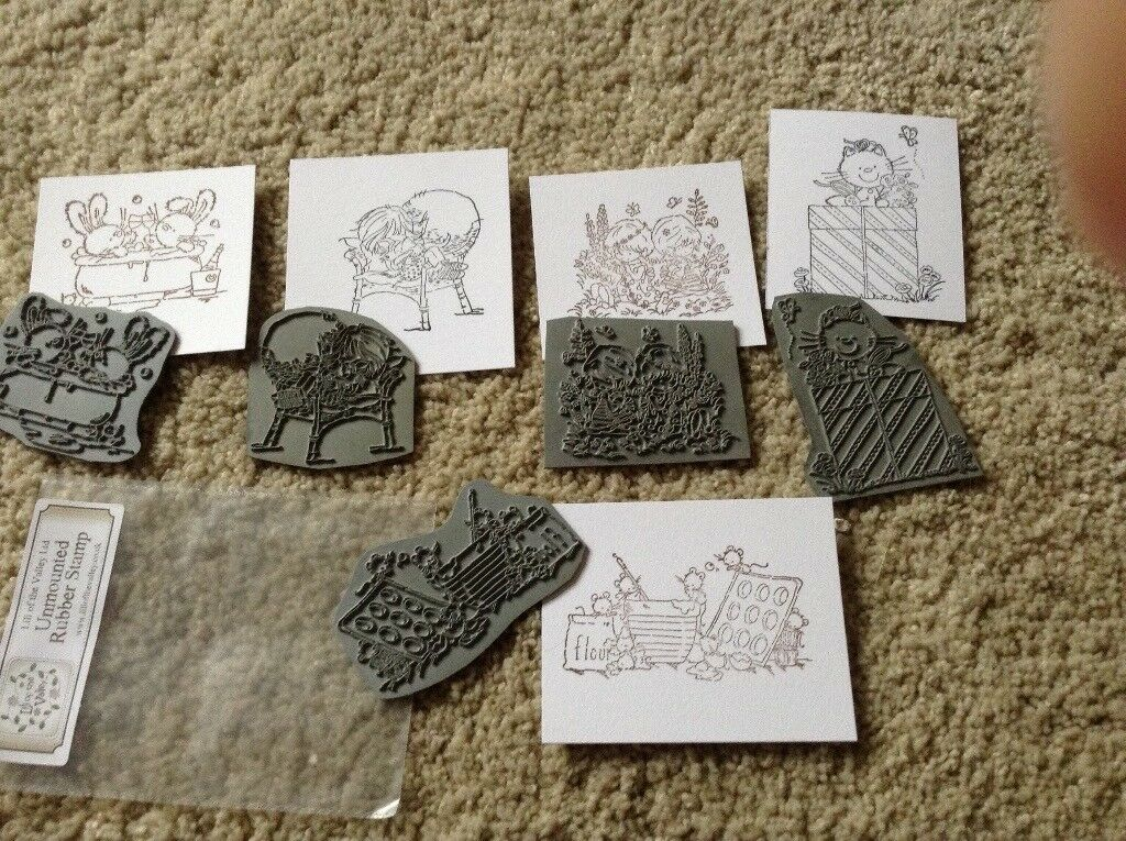 Lili Of The Valley Rubber Stamps