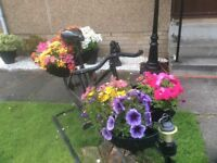 BICYCLE STYLE FLOWER PLANTER