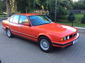 Outstanding Classic E34 BMW 525 TDS