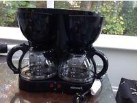 Dual capacity filter coffee machine 4 - 24 cups