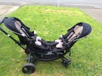 ABC Zoom Double Pram
