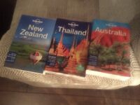 Lonely Planet Guides - Australia, New Zealand &Thailand