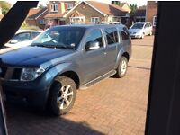 Nissan Pathfinder 7 seater adventurer