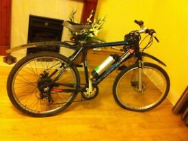 Like New Power Pedal electric mountain bike fast speed 25kph Rechargeable PAID £999 VIKING ADVANCE