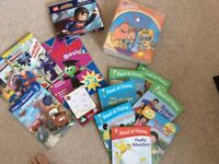 Large collection of learning to read books, excellent, near perfect condition