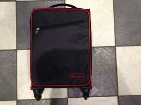 Z frame nearly new cabin bag suitcase
