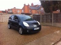Nissan Note 1.6 16v SVE 5dr, SERVICE HISTORY, SERVICED WITH FRONT PADS, STUNNING EXAMPLE