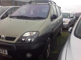 2001 RENAULT SCENIC RX 4 PRIV 2.0 DIESEL BREAKING FOR PARTS ONLY POSTAGE AVAILABLE NATIONWIDE
