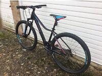 Cube wls 27.5 ladies mountain bike