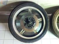 honda cm250 cm400 cb250 cb400 18 inch front wheel