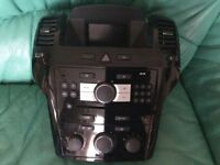 Vauxhall Zafira Astra CD player