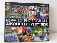 """How to photograph absolutely everything"" book NEW"