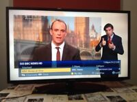 Samsung 40 inch Slim Full HD LED TV with Freeview, USB, great condition