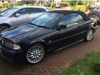 BMW 320 CI Sport convertible E46 Model.