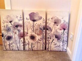 Graham & Brown Poppy Canvas
