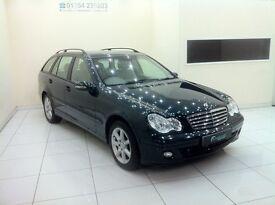 Mercedes-Benz C Class 1.8 C180 Kompressor SE 5dr-12 Month MOT-12 Month Warranty-Full Service History