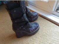 New rock boots size 5