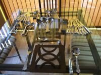 Arthur Price Kings style 69 piece stainless steel cutlery set