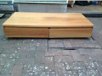Large Low Coffee Table with Storage