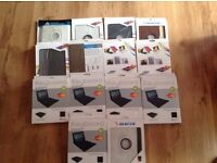 Wholesale Joblot iPad Leather case with bluetooth keyboard x 14