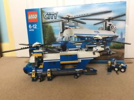 Lego City Police Heavy Lift Helicopter 4439