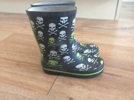 Boys wellies size 8