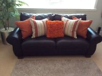 Leather Sofa - Large Two Seater