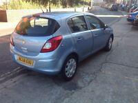 Vauxhall Corsa 2008 model 5 doors hatchback serviced