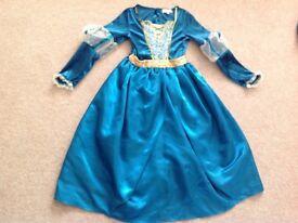DISNEY Brave Costume -Princess Merida dress and cape - fancy dress / dressing up. VGC