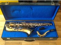 Tenor Saxophone, Elkhart. Used but works well! £300 ono