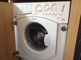 HOTPOINT 6.5kg washing machine. Eco friendly cycle.