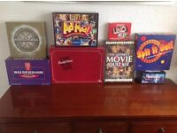 Boxed board games,all in very good condition.
