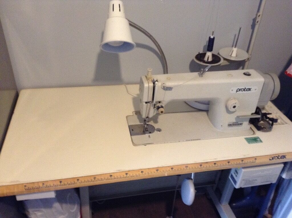 Sewing machine with silent motor