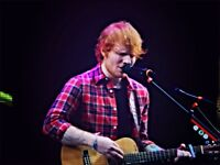 2x Standing Ed Sheeran Tickets Principality Stadium Cardiff Thursday 21st June