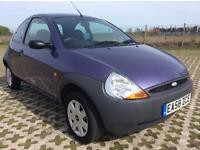 2009 FORD KA 1.3 PETROL MANUAL IN PURPLE, ONLY 29K MILES.