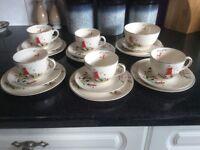 Alfred Meakin St. Ives retro/ vintage tea set