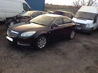 2009 Vauxhall Insignia 2.0cdti hatchback Black BREAKING FOR PARTS SPARES